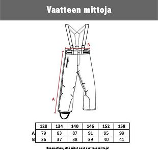 Tähti Jonathan winter pants
