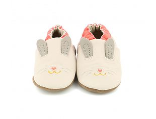 Robeez Mini Rabbit Slippers