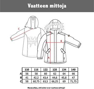 Tähti Jonathan winter jacket