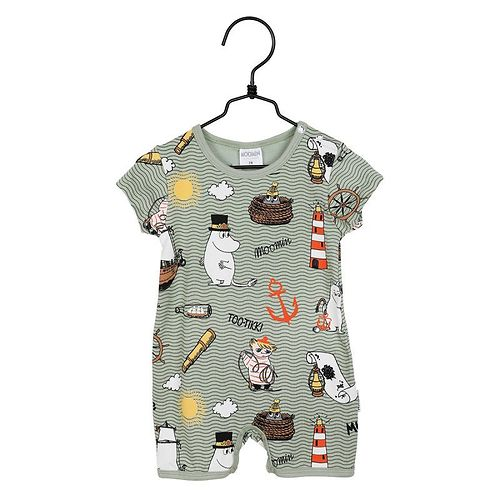 MOOMIN Murmade play suit green