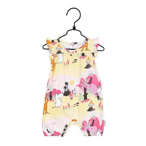 MOOMIN Tropical play suit in pink